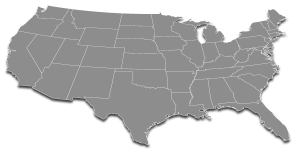 National Medical Courier Services - Background Map Image